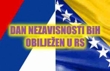 DAN NEZAVISNOSTI BiH IPAK OBILJEŽEN I U RS-u: Organizirana proslava za pamćenje…