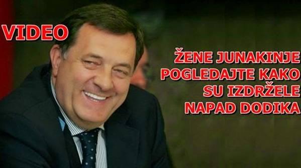 OVE 2 ŽENE SU JUNAKINJE: Pogledajte kako su podnijele brutalan napad Dodika na njih…