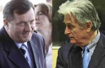 URADIO BI ISTO DA JE NA KARADŽIĆEVOM MJESTU: Ovako Dodik brani Radovana Karadžića