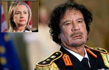 Mejlovi Hilari Klinton sadrže eksplozivne dokaze o ratu u Libiji: Evo zašto je Gadafi ubijen