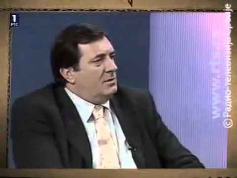 Kako je Dodik nekad govorio o Karadžiću: Đavola ti voliš srpski narod, mjesto ti je u Hagu (VIDEO)