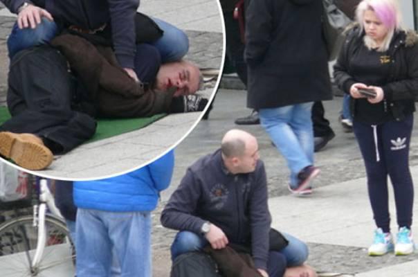 Muškarac mahao mačetom nasred ulice, građani ga svladali prije dolaska policije