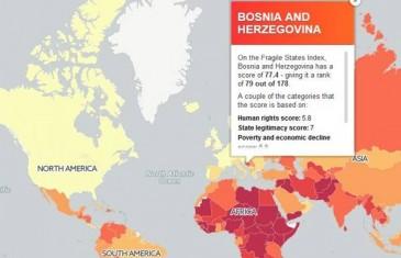 Najgore zemlje svijeta: Bolje da i ne gledate gdje se nalazi BiH