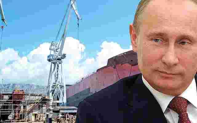 (NE)MOGUĆE: Putin tražio od Hrvata da mu naprave nosač aviona?!