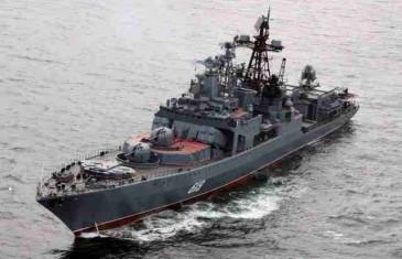 RUSKI DESANTNI BROD PROTUTNJAO BOSFOROM: Za njim krenula tri turska broda i helikopter – VIDEO