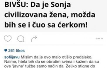 KĆERKA GA SE ODREKLA PUTEM INTERNETA: Šok status kćerke Željka Šašića…