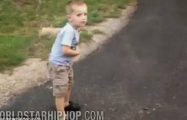 POGLEDAJTE VIDEO KOJI JE ŠOKIRAO JAVNOST: Otac viče i muči 5-godišnjeg sina!