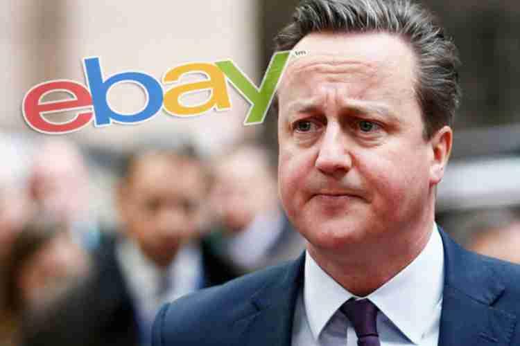 'KORIŠTENI PREMIJER': Britanci prodaju Kamerona preko eBayja