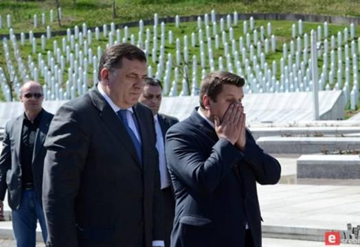 OVAJ PUT JE PREŠAO SVE GRANICE: Dodik udario na Srebrenicu… Pogledajte šta je uradio