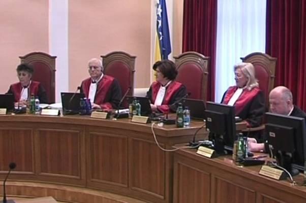 """Ustavni sud BiH: """"Jezik bošnjačkog naroda"""" u skladu s Ustavom BiH"""