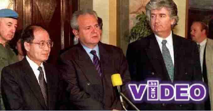 SNIMAK TEK SAD OTKRIVEN: Pogledajte šta je Milošević rekao Karadžiću kad su osnivali genocidnu RS…