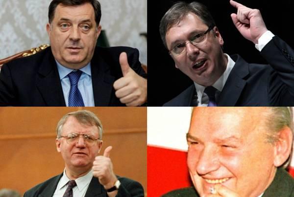 Historija i porijeklo bosanskih Vlaha: Milorad Dodik, Aleksandar Vučić, Vojislav Šešelj i Mate Boban porijeklom su bosanski Vlasi