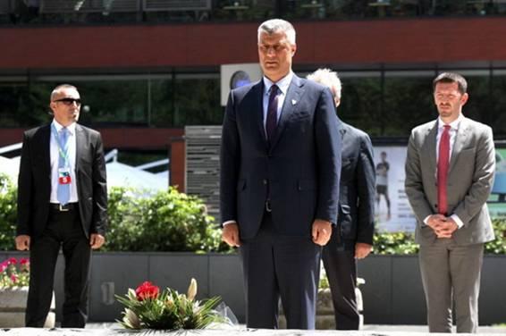 OVO SRBIJA HAŠIMU TAČIJU NEĆE OPROSTITI: Pogledajte šta je Predsjednik Kosova uradio u Sarajevu