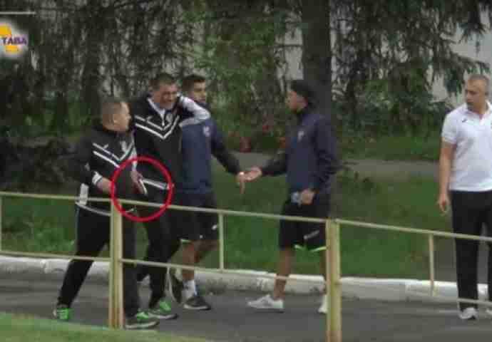 Navijači brutalno pretukli direktora kluba a on se vratio sa pištoljem (VIDEO)