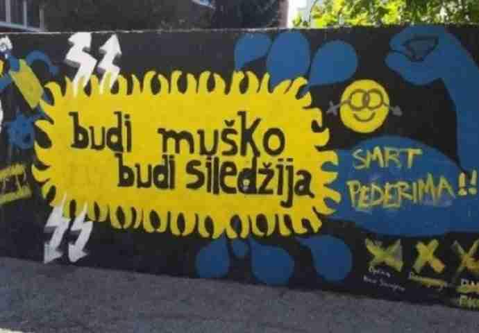 Vandalizam u Sarajevu: 'Budi muško, budi siledžija'!