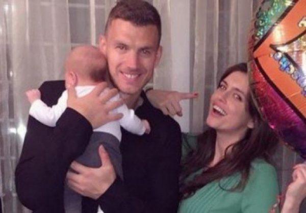 PORODIČNI ŽIVOT NAJBOLJEG BH. FUDBALERA Edin i Amra Džeko čekaju drugo dijete!FOTO