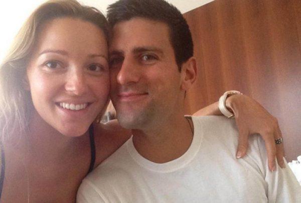 (FOTO): Dok trudna Jelena održava top formu, evo šta radi Novak Đoković!
