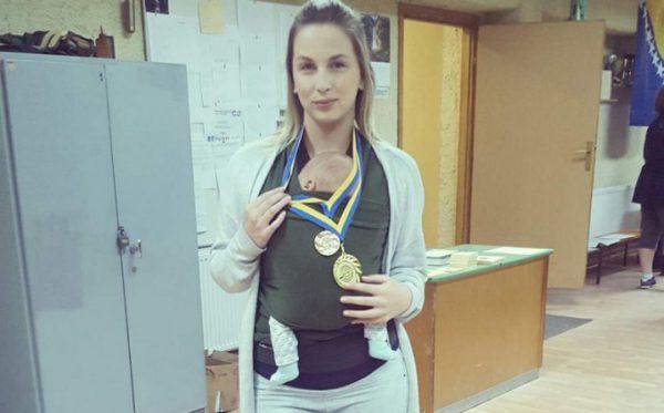 Pedeset dana nakon poroda postala sam šampionka.