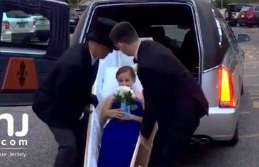Bila je uvijek fina i mirna u školi, a onda je na maturu došla pogrebnim vozilom: Svi u šoku kad je izašla iz mrtvačkog sanduka! (FOTO) (VIDEO)