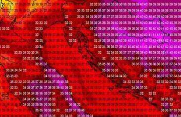 BiH pogađa najjači toplotni val u posljednjih 20 godina: Temperature će se penjati do 44 stepena!