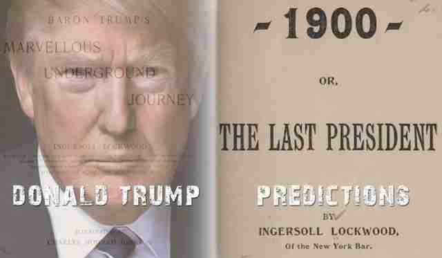 POTVRĐENA AUTENTIČNOST: Knjiga iz 1800-ih godina predviđa da će Tramp biti POSLJEDNJI PREDSJEDNIK