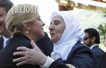 """FRLJOKA OTKRIVA; MUNIRA SUBAŠIĆ: """"Obećala sam Kolindi da će 'Majke Srebrenice' pratiti sva suđenja i arbitraže protiv Hrvatske"""""""