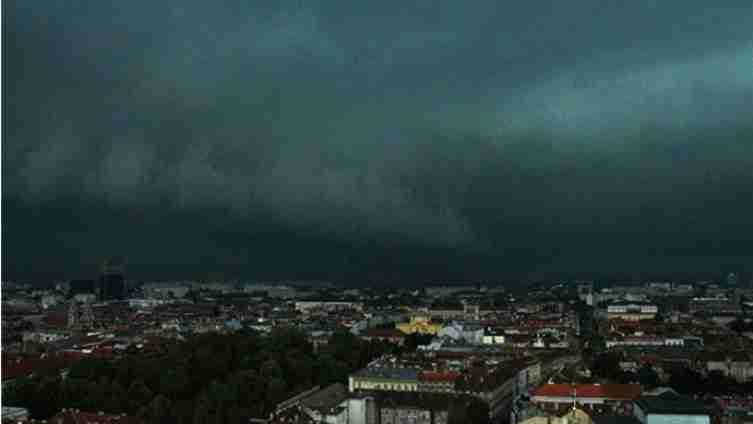 Strašno nevrijeme prijeti BiH: U Hrvatskoj već pada jaka kiša praćeno gradom i grmljavinom