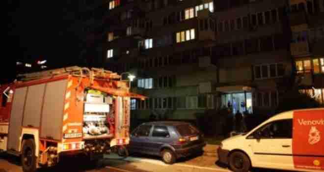 Požar progutao cjeli stan, Sarajka jedva spašena iz vatrene stihije