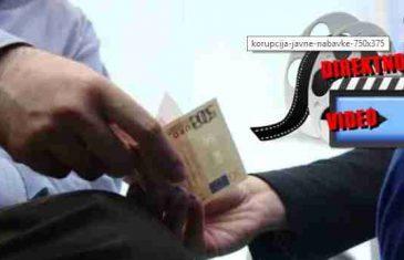 VIDEO OBIŠAO CIJELI BALKAN| U Sarajevu snimljen slučaj korupcije: Pogledajte ko je na njemu…