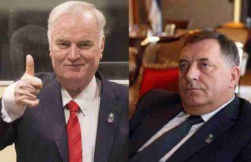 NOVO SLAVLJENJE GENOCIDA U RS-u: Postavljen poster sa čestitkom za rođendan Dodiku i Mladiću; SDA i Salkić odmah uputili poruku Visokom predstavniku
