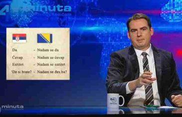 Ovo morate pogledati: Srbijanski TV voditelj i komičar Zoran Kesić o Izetbegovićevoj izjavi