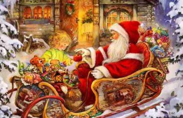 Deda Mraz ili Sveti Nikola: Saznajte ko je tajnoviti lik koji nam krišom ostavlja poklone…