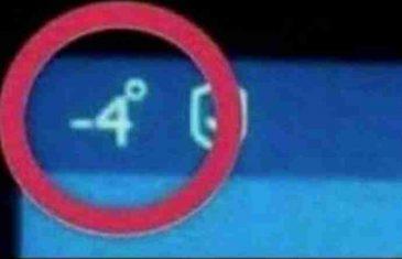 STATUS ZBOG KOJEG CIJELI BALKAN PLAČE OD SMIJEHA: Pomozite mi, u autu mi se pojavio čovjek na šolji