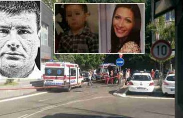 Monstrum koji je ispred Centra za socijalni rad ubio ženu i dijete prerezao sebi grkljan u zatvoru!