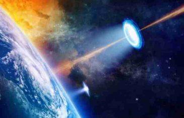 ŠOKANTAN SNIMAK NASA: NLO ispaljuje laser na Međunarodnu svemirsku stanicu…