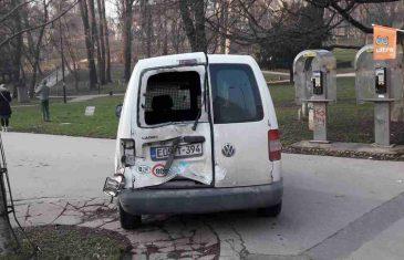 Udes u centru Sarajeva: Jedna osoba povrijeđena, tramvajski saobraćaj u prekidu