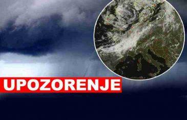 TRESE SE BOSNA: Na vrhu Bjelašnice puše orkanski vjetar brzinom od 144 km/h