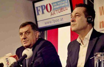 AUSTRIJA NA NOGAMA: Žestoke osude vicekancelara što je prihvatio orden od Dodika!