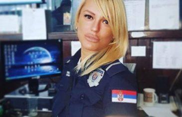 Za Lidiju kažu da je najseksipilnija srpska policajka, kriminalci joj se sami nude: Svaki dan nova seksi fotka…