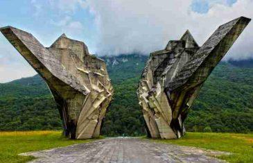 VELIKO KLIZIŠTE NA TJENTIŠTU: Ugrožen znameniti partizanski spomenik!