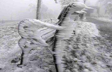 U petak moguća ledena kiša: Čeka nas nešto izuzetno opasno!