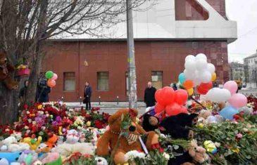 Dan žalosti širom Rusije, zastave na pola koplja