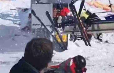 NEZAPAMĆEN HAOS NA SKIJALIŠTU: Žičara se strahovito ubrzala zbog kvara, skijaši se panično spašavali…