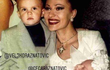PORODICA OSTAJE ZAUVEK: Anastasija objavila staru fotku sa Veljkom i Cecom koja će vas potpuno RAZNEŽITI!
