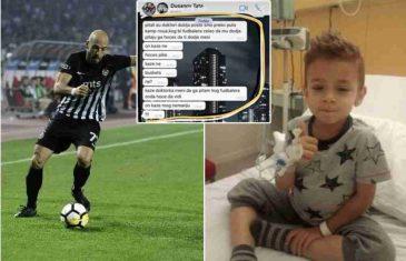 DUŠA MOJA MALA! Srpski fudbaler zbog kog je Duki odbio Mesija poslao SRCEPARAJUĆU poruku dečaku koji je podigao Srbiju na noge! NAJEŽIO SAM SE, JEDVA ČEKAM DA GA VIDIM!