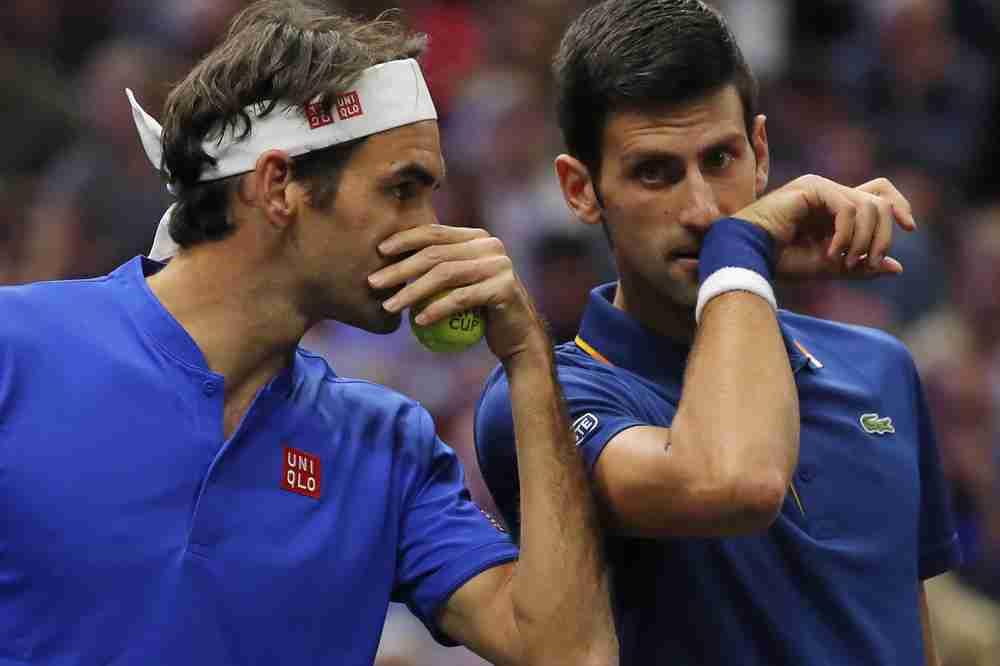 NOVAKOVA OSVETA RODŽERU: Đoković htio da prebaci lopticu preko mreže, umjesto toga stradao je Federer