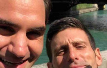OVAJ SELFI JE ZAPALIO PLANETU: Đoković objavio sliku sa Federerom, evo zašto su njih dvojica zajedno
