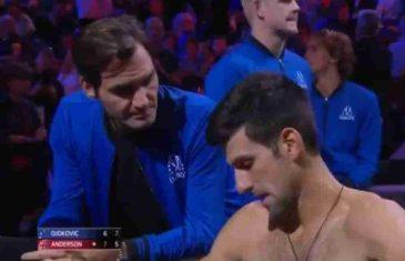 KLANJAO SE ĐOKOVIĆU, IZIGRAVAO MU TRENERA, ŠLIHTAO MU SE… A SADA SE PONOVO VRATIO NA STARO! Federer: Uživam u mečevima sa Novakom, ali rivalstvo sa Rafom je ipak NEŠTO POSEBNO!