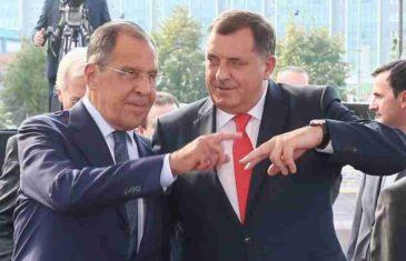 """DODIK ZVAO LAVROVA TELEFONOM: """"Zamolio sam ruskog šefa diplomatije da pomogne""""; Nije zaboravio ni Putina"""