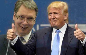 ALBANCI VEĆ SLAVE, VUČIĆ U PAT POZICIJI: Evo šta su Amerikanci stavili na sto pred predsjednika Srbije